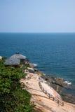 Grenzinsel Lingshui-Landhaus Lu Guiling Stockfotografie