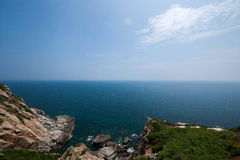 Grenzinsel Lingshui-Schlucht-Ansicht Hai Ting Stockfotografie