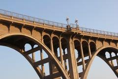 Grenzstein-Brücke Lizenzfreie Stockbilder