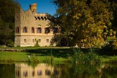 Grenzstein-Johns Schloss Stockfotografie
