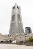 Grenzstein-Kontrollturm in Yokohama Stockfotografie