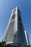 Grenzstein-Kontrollturm in Yokohama Lizenzfreies Stockbild