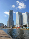 Grenzstein-Kontrollturm in Yokohama Lizenzfreie Stockfotos