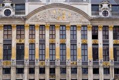 Grenzstein von Brüssel lizenzfreies stockfoto