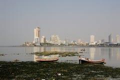 Grenzstein von Indien, Mumbai, Indien Lizenzfreies Stockfoto
