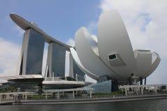 Grenzsteine von Singapur Lizenzfreie Stockfotografie