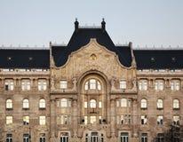 Gresham宫殿在布达佩斯匈牙利 库存图片