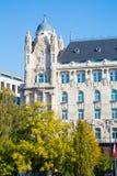 Gresham宫殿在布达佩斯 免版税库存照片