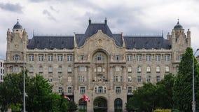 Gresham宫殿布达佩斯 库存图片