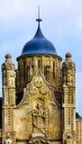 Gresham宫殿艺术Nouveau布达佩斯匈牙利 免版税图库摄影