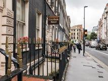 Gresham-Hotel nahe Russell Square, London, Großbritannien Stockfotos