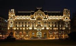 Gresham Palace in Budapest. Hungary Stock Image