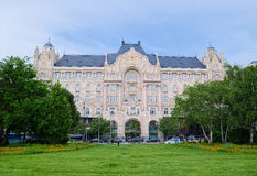 Gresham Palace in Budapest, Hungary royalty free stock photo
