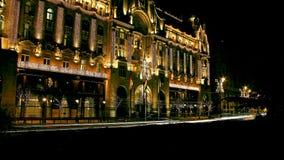 Gresham Palota fyra kryddar hotellet Budapest arkivfoton