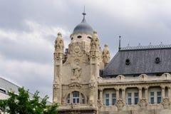 Gresham slott Budapest arkivfoto