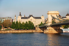 Gresham slott i Budapest Arkivbild
