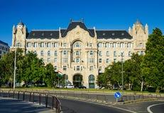 Greshampaleis in Boedapest, Hongarije Stock Foto's