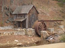 Greshams Mill. Old Mill North of Atlanta Stock Images