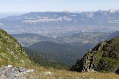 Gresivaudanvallei en Chartreuse Royalty-vrije Stock Afbeelding
