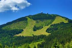 Gresser Arber est une montagne de la Bavière, Allemagne photographie stock libre de droits