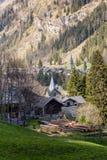 Gressoney, das Aostatal Lizenzfreie Stockbilder