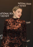 Greta Gerwig Attends NBR Awards Gala Royalty Free Stock Photography