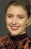 Greta Gerwig Sizzles no filme de NBR concede a gala Imagem de Stock