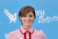 Greta Scarano al Giffoni Ekranowy festiwal 2016 Zdjęcia Royalty Free