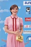 Greta Scarano al Giffoni Ekranowy festiwal 2016 Obrazy Royalty Free