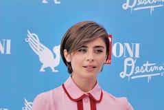 Greta Scarano al Giffoni Ekranowy festiwal 2016 Obraz Royalty Free