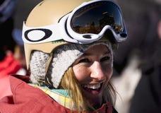 Gretchen Bleiler, X-Juegos 2011 del invierno de ESPN Foto de archivo