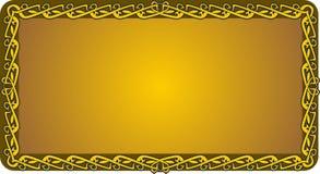 Флористическая greting карточка Стоковое Изображение