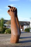 Gretna Green sculpture Stock Images