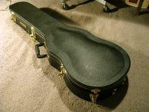 Gretsch Hardshell gitarrfall Fotografering för Bildbyråer