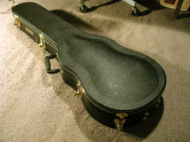 Gretsch Hardshell Guitar Case stock image