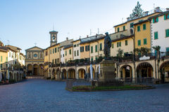 Greve в Chianti, Италии стоковое фото rf