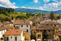 Greve in Chianti cityscape. Cityscape of Greve in Chianti, Tuscany, Italy Royalty Free Stock Photo