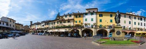 Greve in Chianti panoramic Stock Images