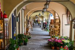 Greve dans le chianti en Toscane image libre de droits