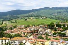 Greve dans le chianti, Toscane Images stock