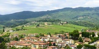 Greve dans le chianti, Toscane photographie stock libre de droits