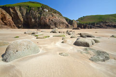 Greve de Lecq Beach, Jersey, UK Stock Image