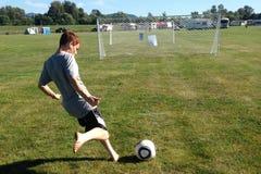 Greve do futebol Imagem de Stock Royalty Free