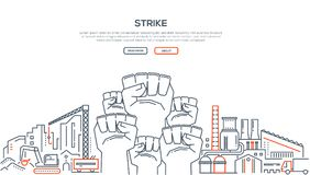 Greve - linha ilustração do projeto ilustração stock