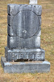 Greve stone in Saint Francois Assise Cemetery Royalty Free Stock Image