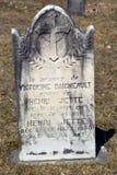 Greve stone in Saint Francois Assise Cemetery Stock Photo