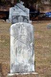 Greve stone in Saint Francois Assise Cemetery Stock Image