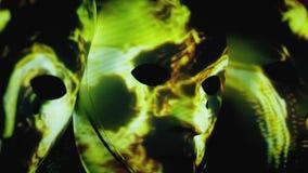 Greves abstratas assustadores da luz das máscaras ilustração stock