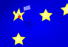 Grexit Στοκ φωτογραφίες με δικαίωμα ελεύθερης χρήσης