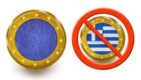 Grexit Lizenzfreie Stockfotos